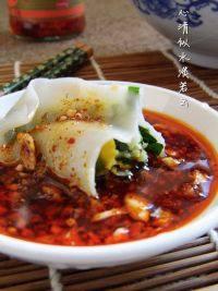 自己做的韭菜三鲜饺子