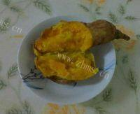 自制微波炉烤红薯