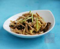 家常菜炒木须肉