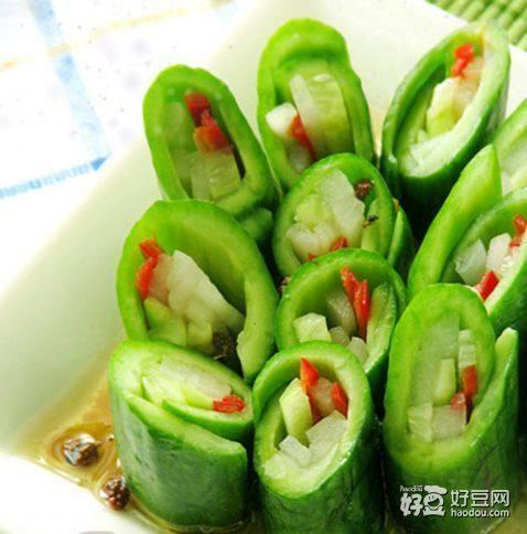 五味黄瓜卷