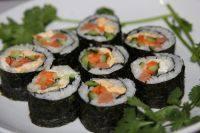 简单自制的寿司