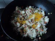 简易鸡肉蛋炒饭