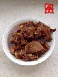 家常菜红烧牛肉