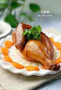 美味的豉油鸡