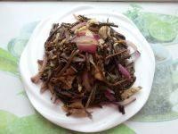 #营养美食#肉丝炒蕨菜