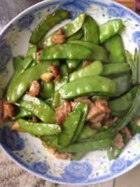家常菜荷兰豆炒肉