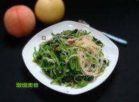 简单的菠菜拌粉丝