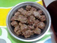 美味的牛肉丸子
