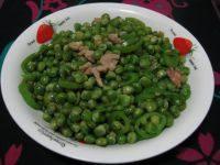 [懒人美食]青豆炒肉