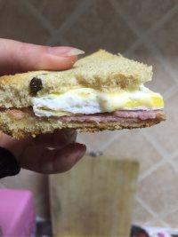 美味营养的三明治