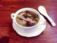 美味的猪骨菜干汤