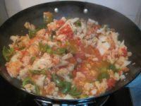 简单西红柿炒菜花