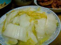 家庭清炒白菜