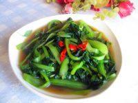 家常菜炒小油菜