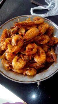 家常菜椒盐虾