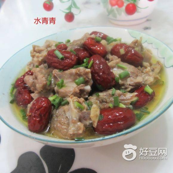 红枣蒸老鸭