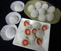自制草莓大福