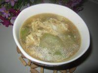 美味的鸡蛋丝瓜汤