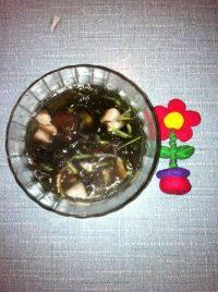 有颜值的蘑菇汤
