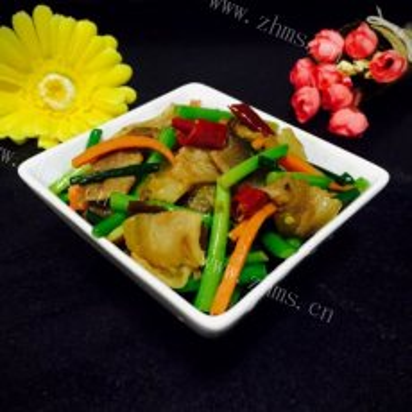 经典韭苔腊肉