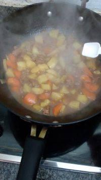 家常土豆烧牛肉