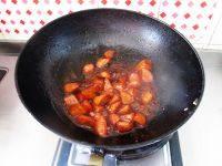 美味的红烧小萝卜