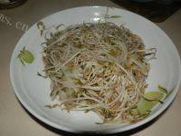 家常菜清炒豆芽菜