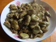 雪菜炒蚕豆