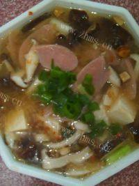 美味的酸辣汤