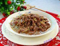 美味的沙茶牛肉