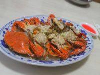 美味的粉丝蒸蟹