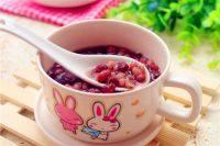 自己做的薏米红豆汤