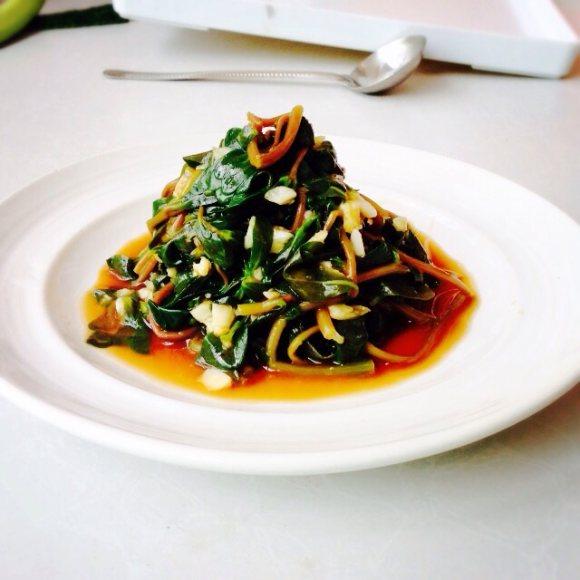 蚝油蚂蚱菜