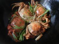 美味葱姜炒蟹