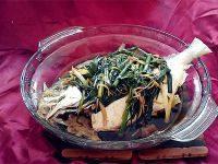甘脆的清蒸金鲳鱼