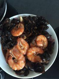 十分诱人的油焖大虾