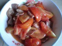 家常菜番茄炒猪肉