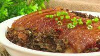 家常菜盐菜扣肉
