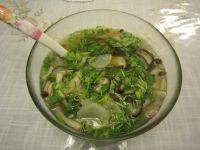 十分诱人的蘑菇汤