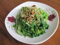 蒜香小白菜