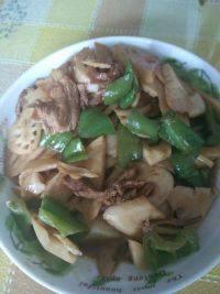 家常菜炒藕片