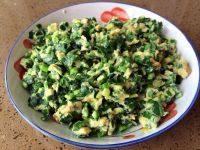 家常菜韭菜炒鸡蛋