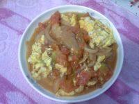 家常菜洋葱西红柿炒鸡蛋