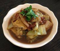 #爱美食#猪肉白菜炖粉条