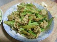家常菜炒菜花