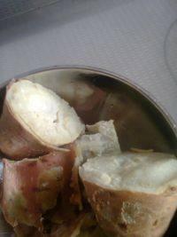 甘脆的蒸红薯