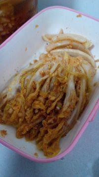 开胃的韩式泡菜