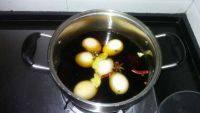 很有食欲的卤鸡蛋