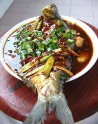 甘脆的红烧鳊鱼