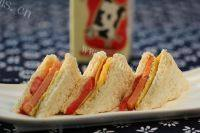 #爱美食#火腿三明治